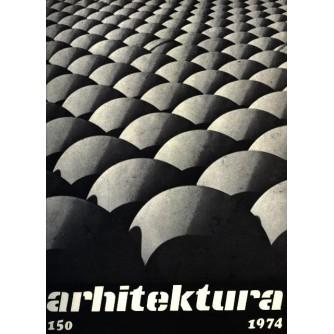 Arhitektura časopis 150/1974
